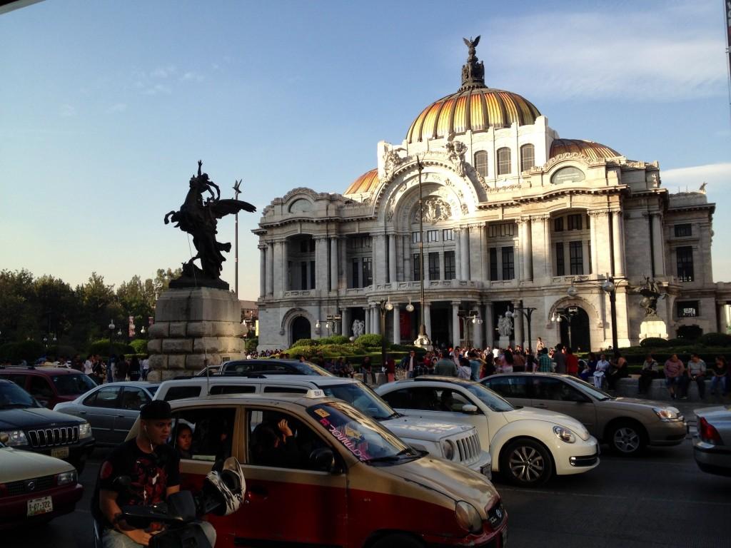 Palacio de Bellas Artes, erbaut 1901-1934